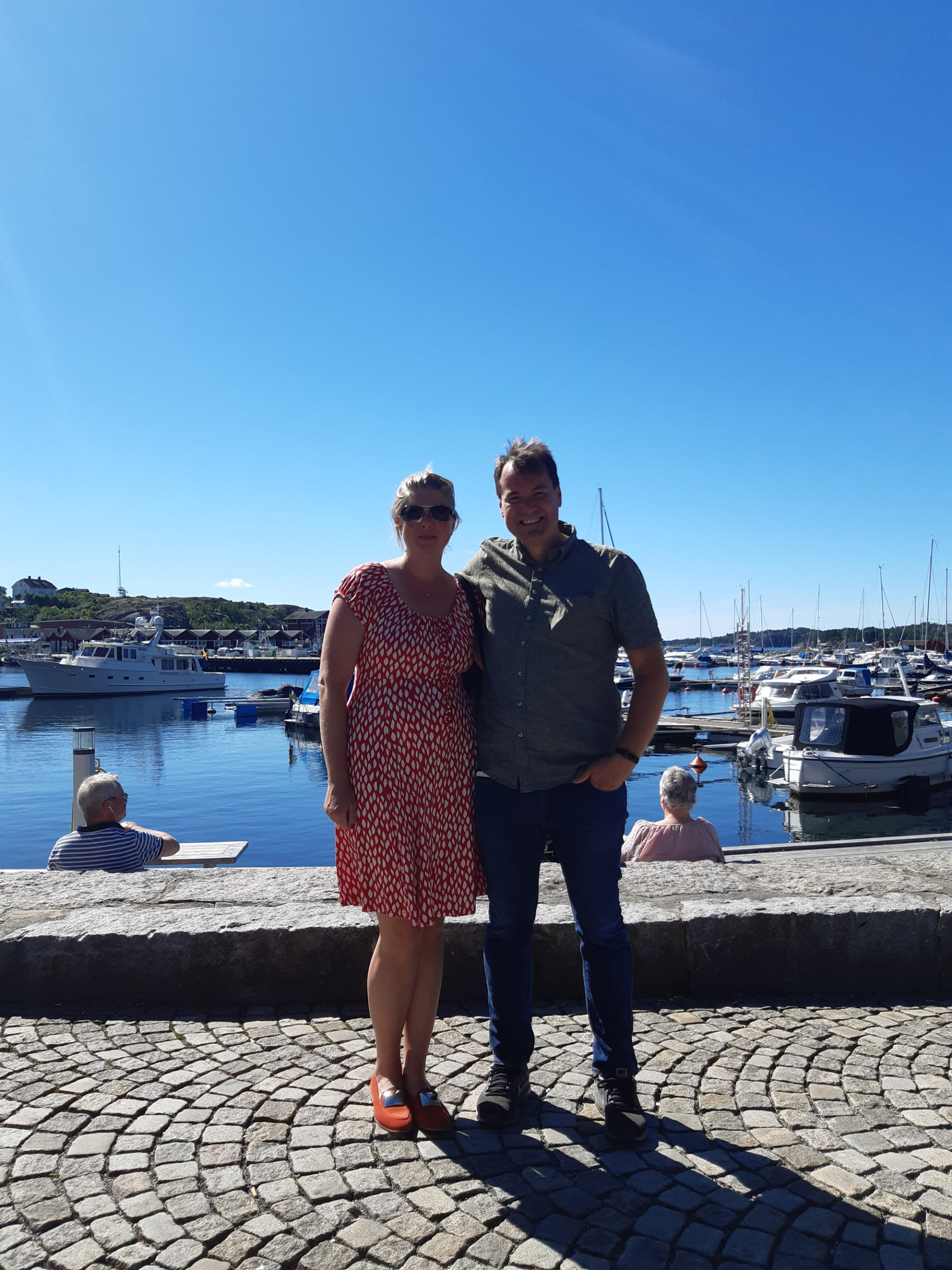 Me and the wife in Strömstad